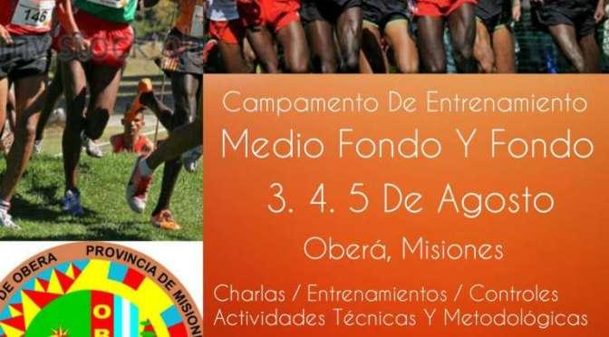 Campamento de Desarrollo de Fondo en Oberá Misiones