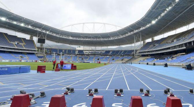 Ibero-Americano 2016,  evento-teste de Atletismo para los Juegos Olimpicos 2016. Est‡dio Ol'mpicos  FOTO: WAGNER CARMO/CBAT