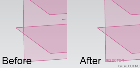 Siemens NX Name Borders - Before and After