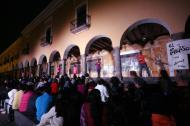 """""""Olímpica"""" de Héctor Azar. Dir. Rabindranath Espinosa y Marcela Bourges. En Puebla dentro del Festival Internacional de Teatro Héctor Azar 2012."""