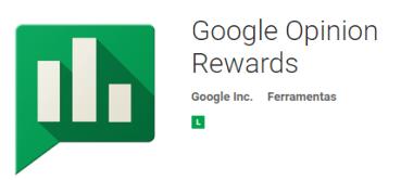 google opinion rewards cada centavo conta