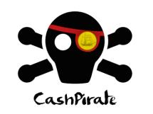 cashpirate cada centavo conta logo
