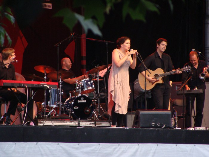 Alejandra Ribera performance at Festival International de Jazz de Montréal  • Montreal, QC