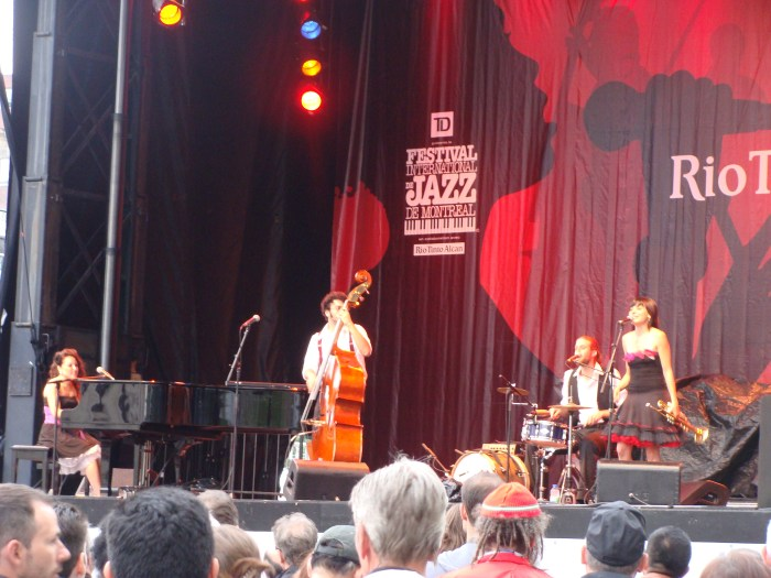 Misses Satchmo performance at Festival International de Jazz de Montréal  • Montreal, QC