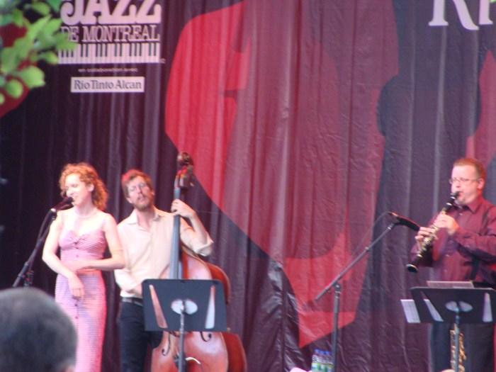 Alex Pangman performance at Festival International de Jazz de Montréal  • Montreal, QC