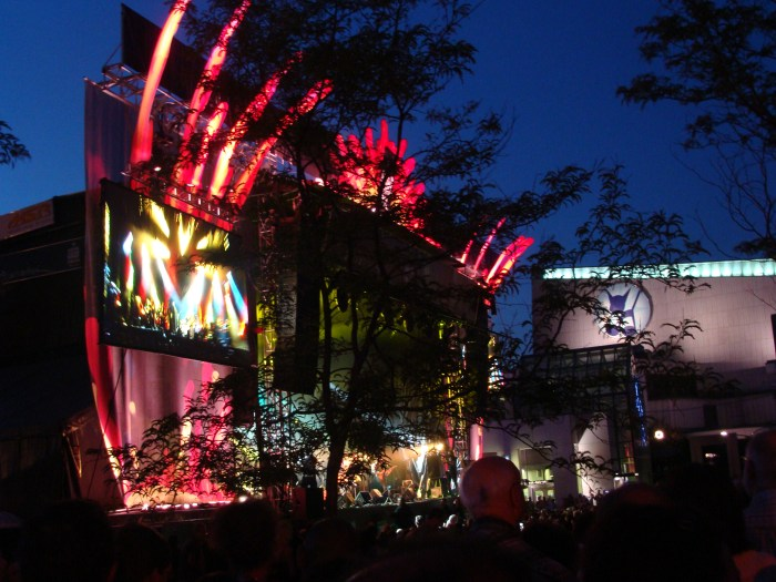 main stage at Festival International de Jazz de Montréal  • Montreal, QC