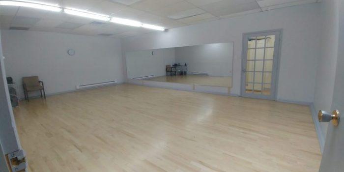 Universal Dance Studio's ballroom B for Cadance's Pilates classes