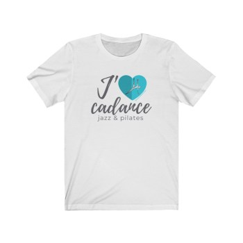 t-shirt J'aime Cadance