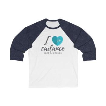 I Love Cadance baseball t-shirt