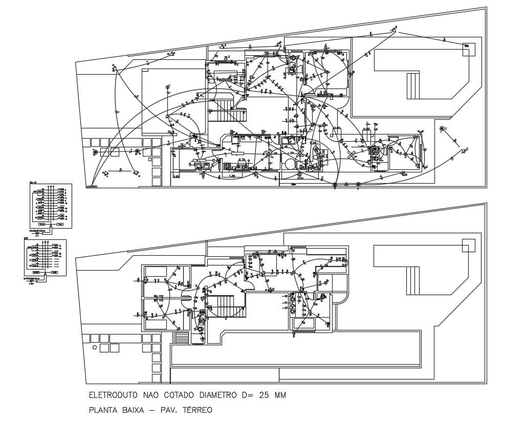 Bungalow Electrical Wiring Layout Plan