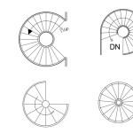 Spiral Staircase Design Plan