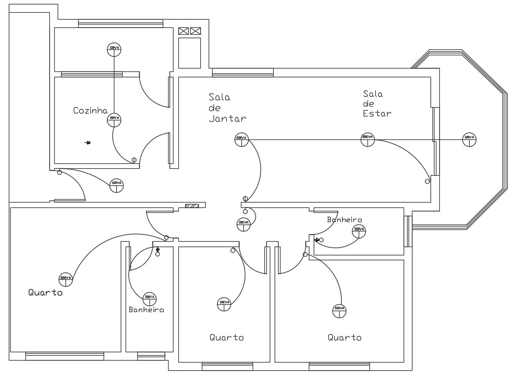 House Electrical Layout Plan