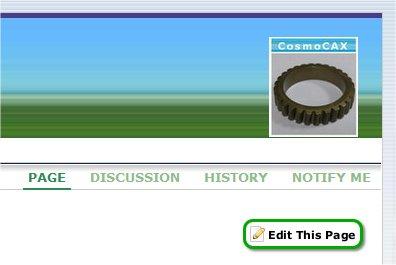 Wiki editable