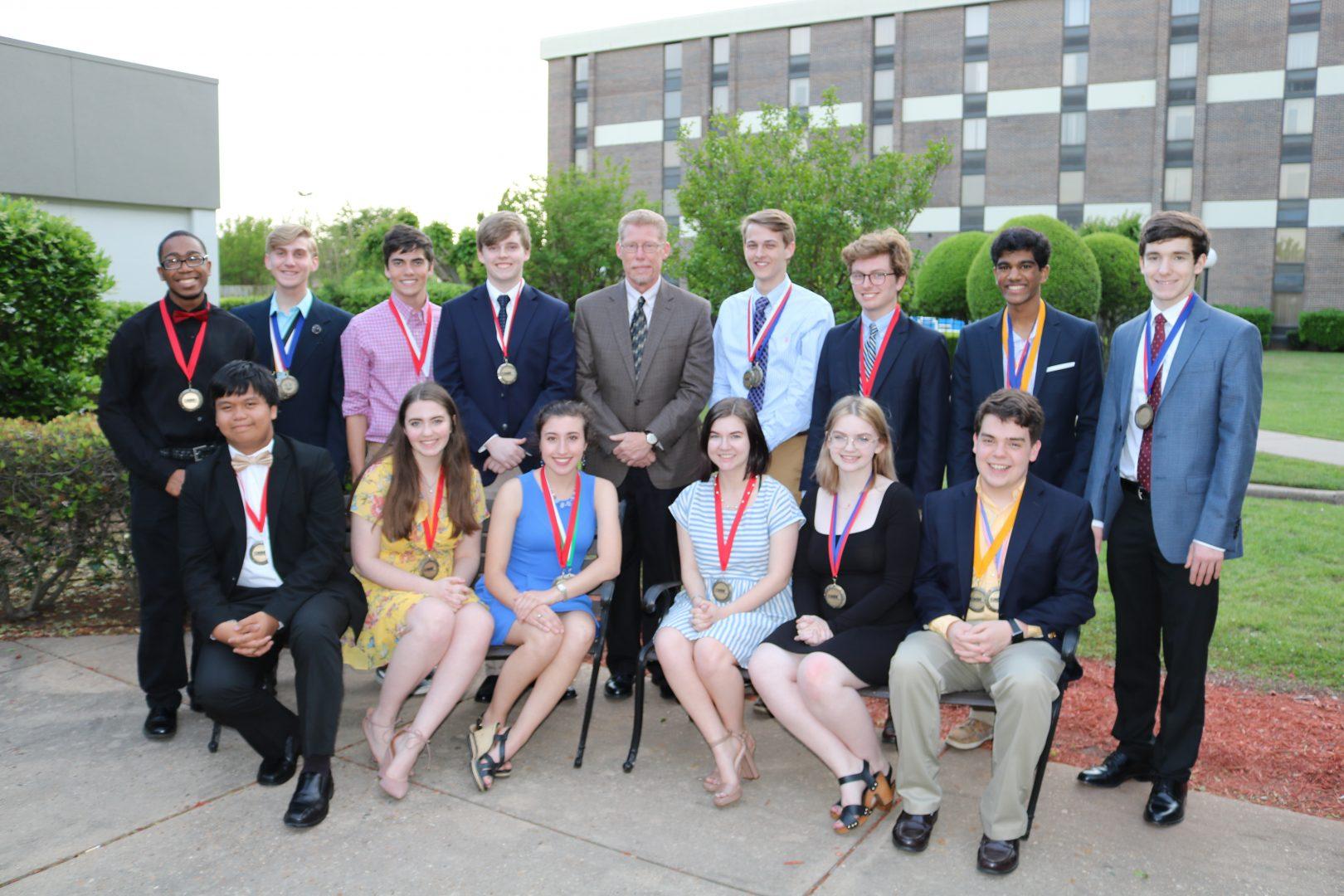Magnet Students Recognized At Caddo Schools Banquet