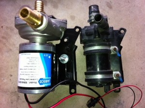 STSV OEM intercooler pump bucket test through OEM  S3 HX