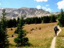 Rawah National Wilderness backpacking, Rawah National Wilderness meadow, National Wilderness labor day