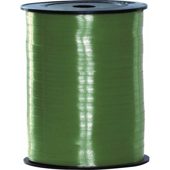 Groen sierlint voor cadeaus