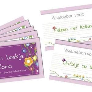 Haza Original couponnenboekje voor moeder 15 stuks