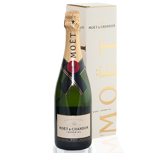 Moët & Chandon brut champagne in cadeau box