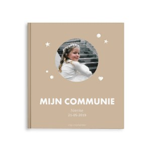 Momenten fotoboek - Mijn communie - M - Hardcover - 40 pagina's