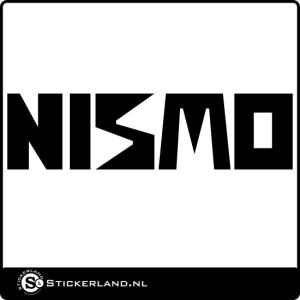Nismo logo sticker 01