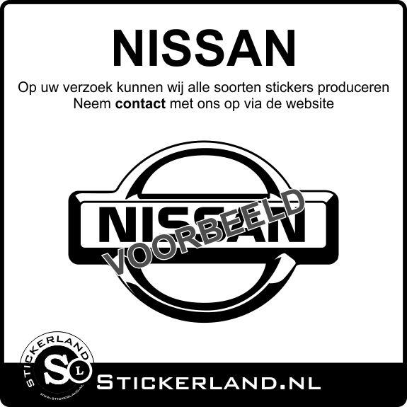 Nissan stickers laten maken? Lees verder...