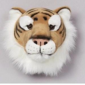 Pluche tijger trofee