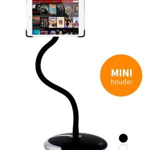 TABLET HOUDER MET VOET + KLEM voor MINI iPad en MINI tablets 7-8 inch