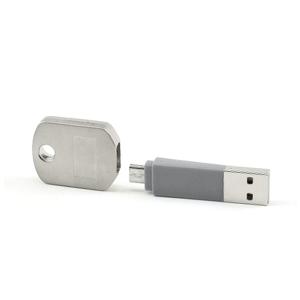 USB Oplaad Sleutelhanger - MICRO USB