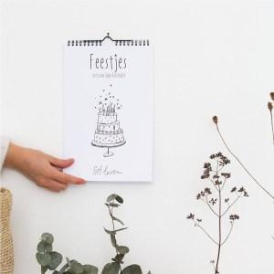 Verjaardag kalender ❤ Feestjes