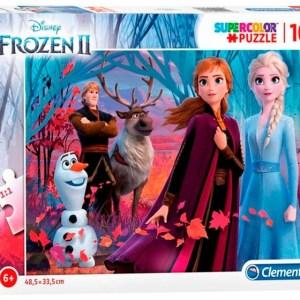 Clementoni legpuzzel Frozen II 104 stukjes