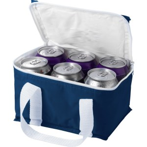 Kleine koeltassen donker blauw 19 cm voor sixpack blikjes 3,5 liter