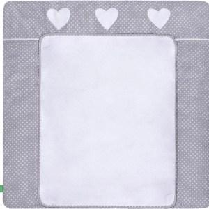 Lulando verschoonmat katoen/polyester 80 x 75 cm