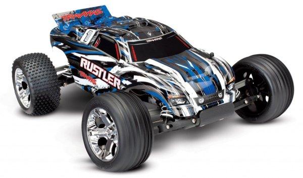 Traxxas Rustler XL-5 electro truggy RTR - Blauw