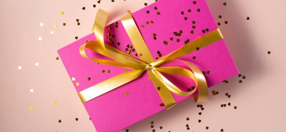 cadeau roze