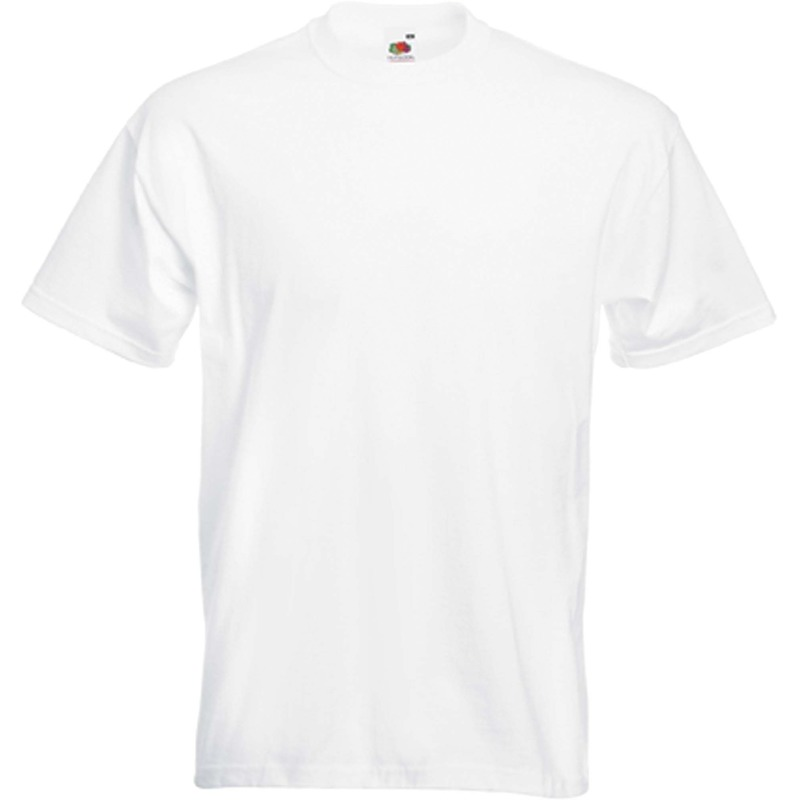 Basic wit t-shirt voor heren