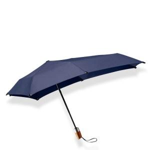 Senz Mini Automatic Deluxe Foldable Paraplu Midnight Blue