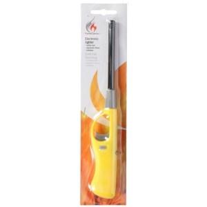 Gele barbecue aansteker/gasaansteker navulbaar 26 cm
