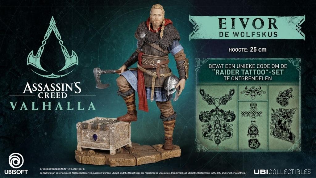 Assassin's Creed Valhalla Eivor Male Figurine