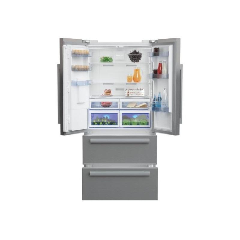 Beko GNE60530DXN Amerikaanse koelkast Zilver