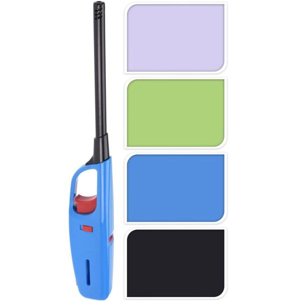 1x stuks gas/bbq/keuken aanstekers navulbaar 32 cm