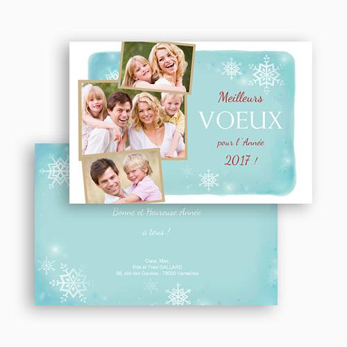 envoyer carte de voeux Carte de vœux comblés de joie