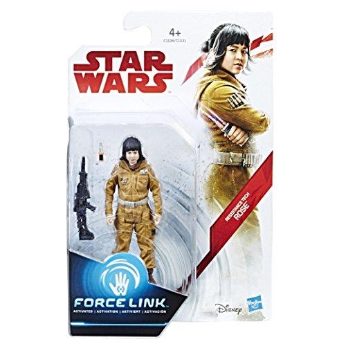 Hasbro – Star Wars : Les Derniers Jedi – Force Link – Resistance Tech Rose – Figurine 9,5 cm