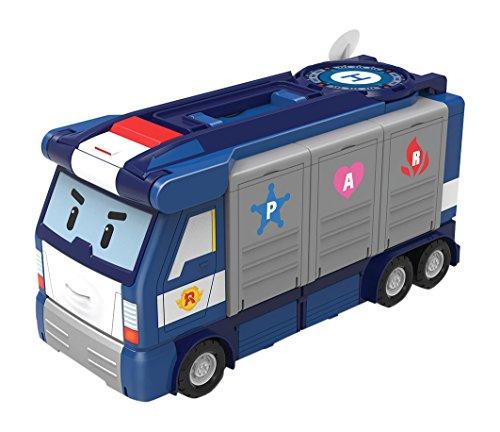 robocar poli 83377 camion quartier general mobile 30cm 1 voiture poli incluse liste papa. Black Bedroom Furniture Sets. Home Design Ideas