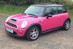 mini cooper rose BMW