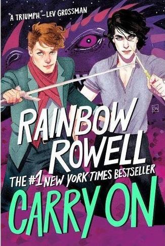 Rainbow Rowell Book - Gay Wizards