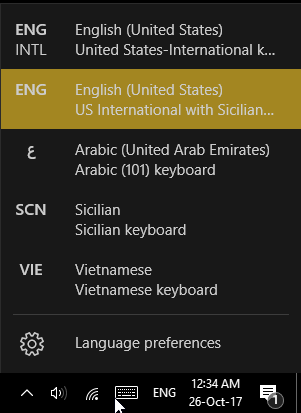 Sicilian Language Keyboard Layouts for Android, Windows and