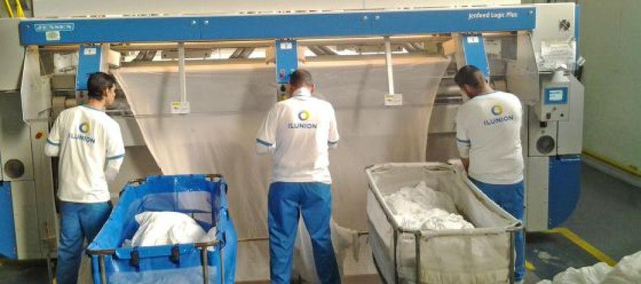 Ilunion empleará a 150 personas con discapacidad en sus nuevas lavanderías en Colombia