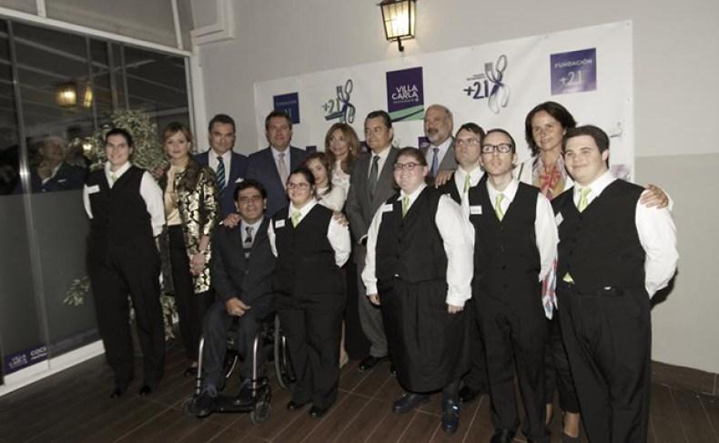 Abre en Sevilla una escuela de hostelería para jóvenes con Síndrome de Down