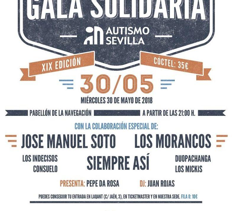 Los Morancos, Siempre Así y José Manuel Soto, en la Gala Solidaria por el Autismo que se celebra el 30 de mayo